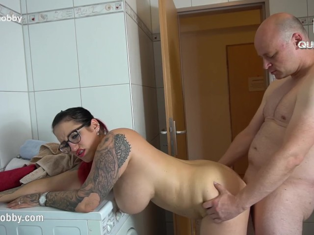 Mydirtyhobby - Big Tits Tattooed Babe Caught Him Sniffing Her Panties