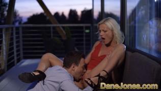 Dane Jones Cute blonde Zazie Skymm outdoor pussy licking and passionate sex