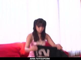 Teen Hinata Tachibana likes the dick in both holes - More at 69avs.com