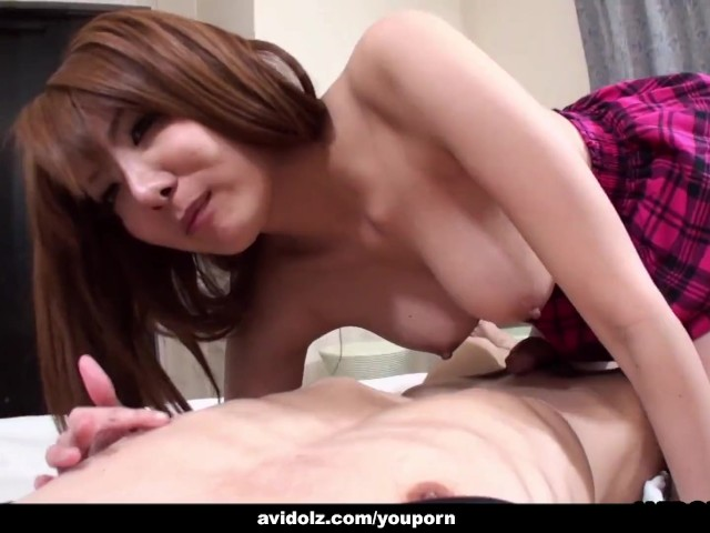Japanese Student, Yuna Hirose Is Fucking Her Horny Landlord, Uncensored