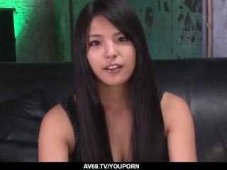Eririka Katagiri fucks a lot and enjoys Japanese cum - More at 69avs.com