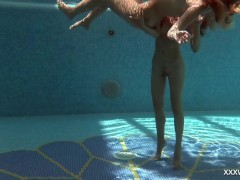 Underwater lesbos Serbian and Russian
