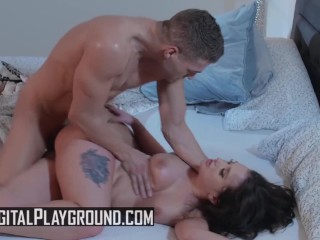 Digital Playground- Tattoed Thick pornstar Gia Paige earns banged rough by Xander Corvus