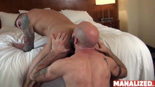 MANALIZED Badboy Stud Dolf Dietrich Breeding For Cumshot