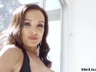 Glamorous MILF Lisa Ann interracial anal and facial