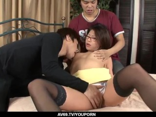 Hardcore sex along naked milf Mizuki Ogawa - More at 69avs.com