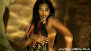 Shy Indian Babe Undressing For Pleasure