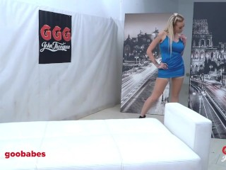 Busty Daisy Lee cum Swallowing gangbang - German Goo Girls