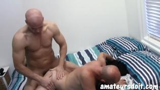 AmateursDoIt - Hot Aussie daddies swap head and breed ass bareback