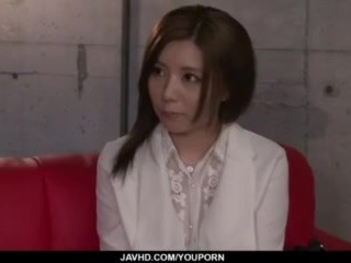 Saya Fujiwara creamed after a wild anal fuck - More at javhd.net