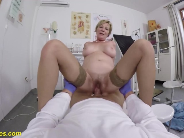 Hairy 71 Years Old Mom Rough Pov Fucked By Her Doctor -4386