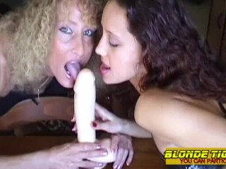 Young lesbian arab casted by hot milf