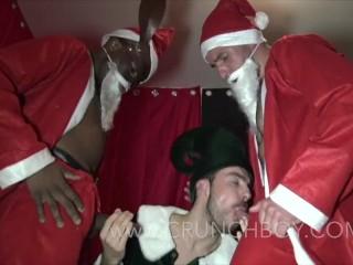 slut french suck 2 xxl cock of 2 santa claus for christmas