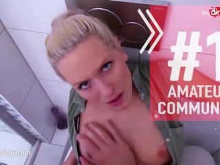 MyDirtyHobby - Real amateur German housewife bareback fuck