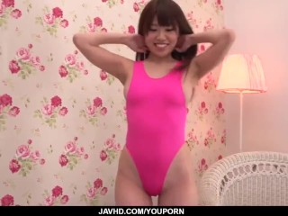 Chisa Hoshino screams with the dick in her pussy - More at javhd.net