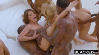 BLACKED Teanna Trump, Adriana Chechik, and Vicki Chase in a BBC GB. Nuff said.