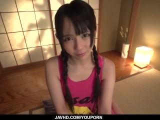 Strong Japanese orgasms for young Ruka Kanae - More at javhd.net
