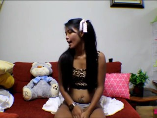 6 week  pregnant thai teen heather deep teen mom gives deepthroat throatpie