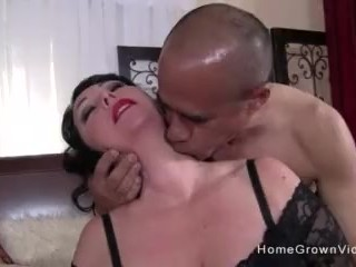 Mature BBW with big tits getting her daily dose of cock
