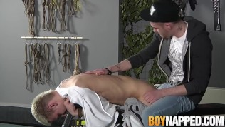 Young sub feels happy when hard dick penetrates him
