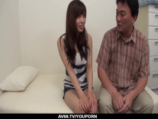Kaede Kyomoto feels huge dick working her ass - More at 69avs.com