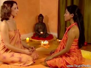 Feeling Her Friend's Feelings Through Massage