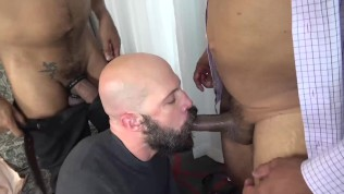 MANALIZED Mickey Carpathio Sucks BBC While Daddy Barebacks
