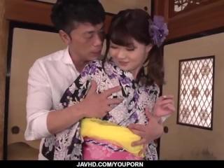 Maya Kawamura made to suck before being fucked hard - More at javhd.net