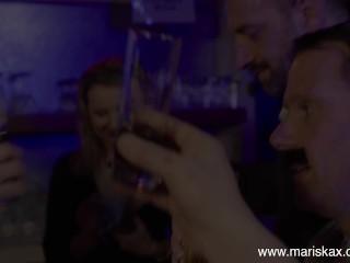 MARISKAX Lovely Liesje takes a black cock up her ass
