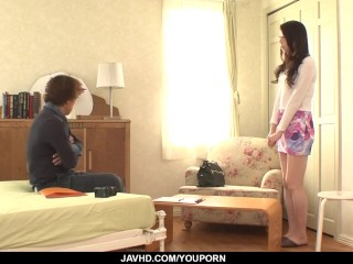 Ryo Makoto strips naked to deal cock like a fuck goddess - More at javhd.net