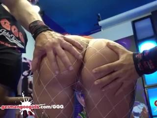 Alexxa Vice has anal fuck Bukkake and cumshots GermanGooGirls