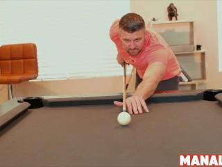 MANALIZED Stud Alex Hawk Raw Riding Big Cock After Blowjob