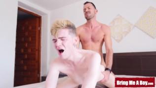 BRINGMEABOY Blair Knight Seduced And Barebacked By Daddy