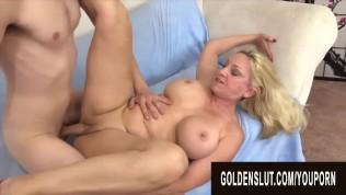 Golden Slut - Gorgeous Busty Grandma Cala Craves Compilation Part 2