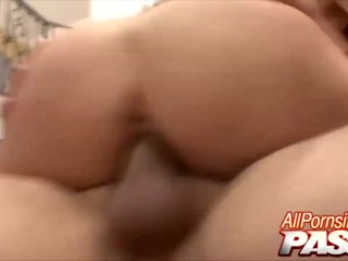 Rough Sex With Ranae Morgan Ends With Cum Showers