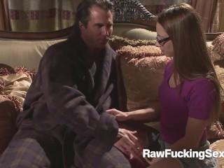 Raw Fucking Sex - Lindsey Meadows Facial Action