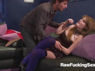 Raw Fucking Sex - Redhead Babe Faye Reagan Jizzed