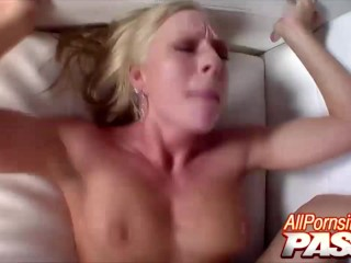 Rough Sex With Britney Brooks Ends In Cumshots