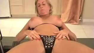 Pussy Play With Granny