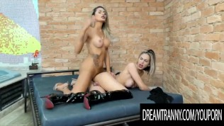 Dream Tranny - Shemale Barebacks Shemale Compilation Part 7