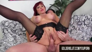 Golden Slut – Horny Older Cowgirls Compilation Part 4