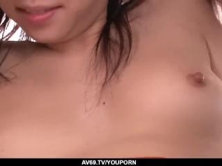 Hina Tokisaka acts naughty with two big dicks - More at 69avs.com