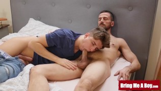 BRINGMEABOY Jock Matthew Sommers Fucked By Daddy After BJ