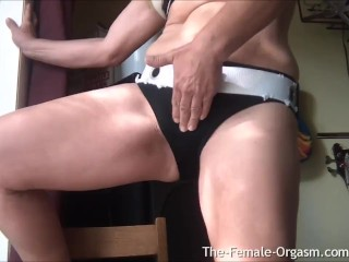 GILF with Big Soft Tits and Juicy Wet Pussy Vibes Clit to Amazing Orgasm
