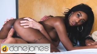 Dane Jones Sexy black UK babe Asia Rae can't get enough of his big dick