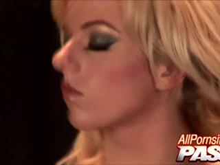Latex Clad Angela Stone Gets Laid