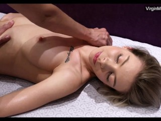 Poplavskaya hardcore virgin massage orgasms