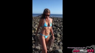 SofieMarieXXX – Sofie Marie Blowjob After Day At The Beach