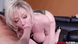 PORNSTARPLATINUM Big Titty MILF Dee Williams Blows Huge Cock