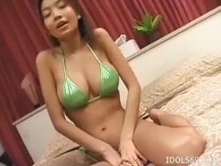 Yuna Anzai Hot Hairy Cunt Asian Slut Shows Off Her HHH - More at hotajp.com